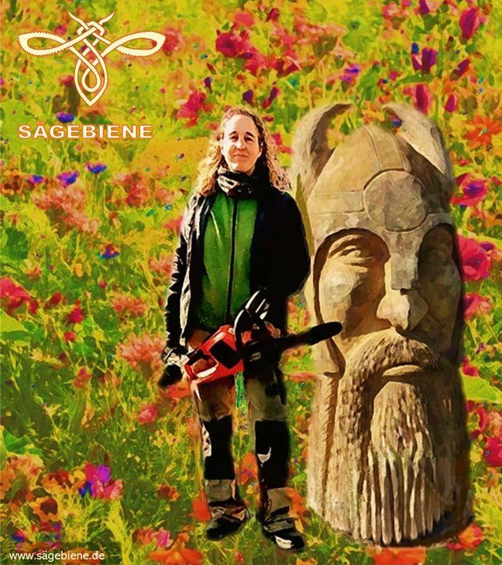 Sägebienen-Poster Bertram Vetter